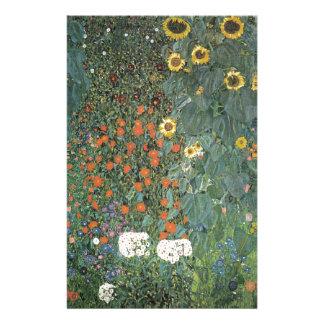 Papeterie Gustav Klimt - fleurs de tournesols de jardin de
