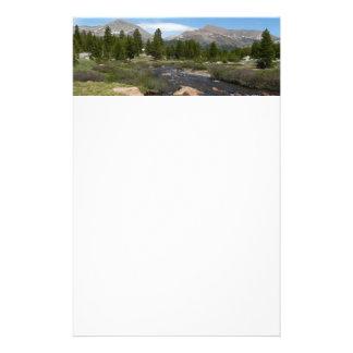 Papeterie Haut parc du courant III Yosemite de montagne de
