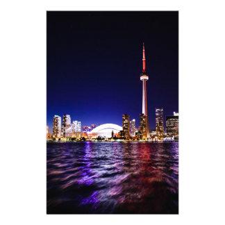 Papeterie Horizon de nuit de Toronto