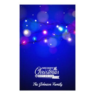 Papeterie Illustration de Joyeux Noël et de bonne année