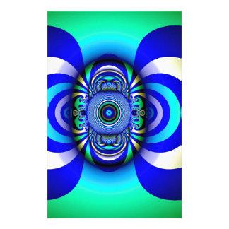 Papeterie Imaginaire Digital de troisième oeil de fractale