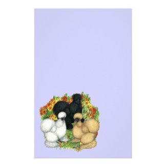 Papeterie Jardin d'agrément Silkies