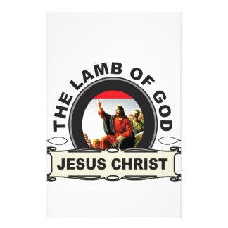 Papeterie jc l'agneau d'un dieu