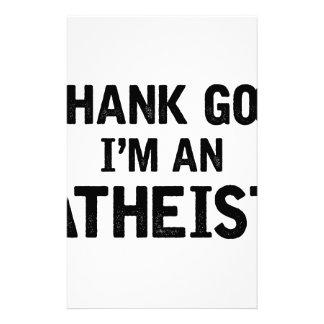 Papeterie Je suis un Athiest