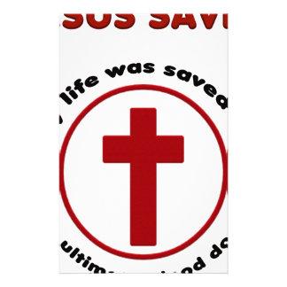 Papeterie Jésus économise, T-shirt chrétien de cadeau de
