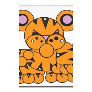 Papeterie La forme a fait le tigre