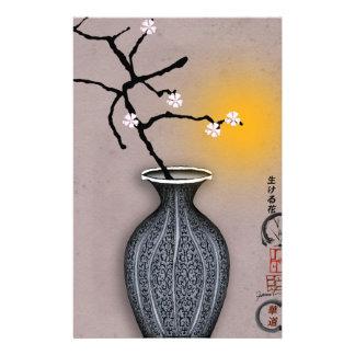 Papeterie la lune élégante des fernandes et la fleur de 7