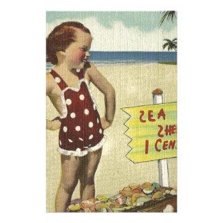 Papeterie La rétro mer vintage écosse la Floride