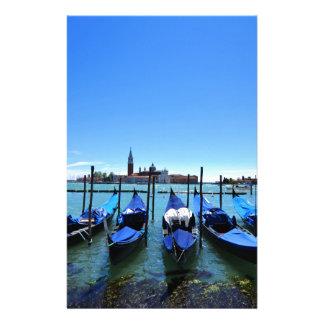 Papeterie Lagune bleue à Venise, Italie