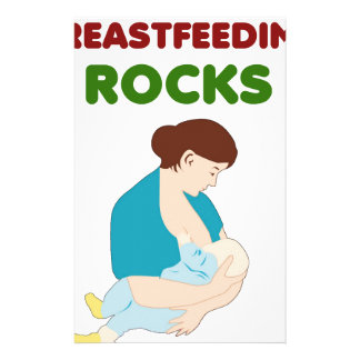 Papeterie l'allaitement des roches, mère, bébé trait le