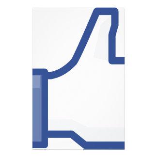 Papeterie le facebook M'AIMENT manier maladroitement !
