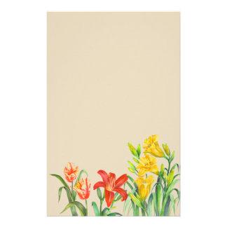 Papeterie Le ressort fait sur commande fleurit l'art floral