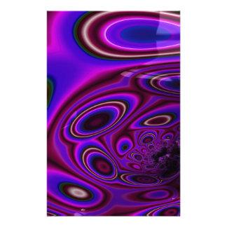 Papeterie Les étincelles de la fractale verte