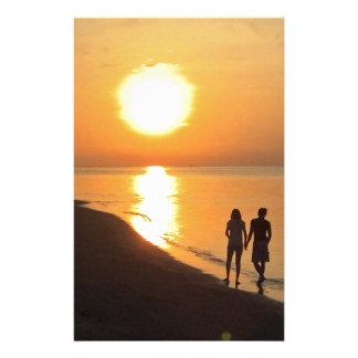 Papeterie Lever de soleil de Bali sur la plage