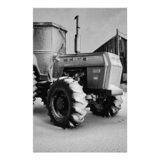 Papeterie L'hiver au Canada peut être très noir et blanc