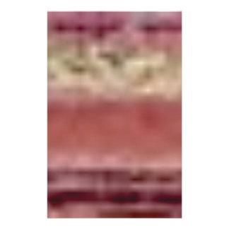 Papeterie lignes rouges bronzages de roche