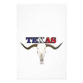 Papeterie longhorn mort du Texas