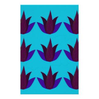 Papeterie Lotus bleus