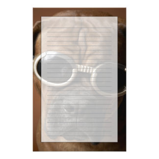 Papeterie Lunettes de soleil de port de chien
