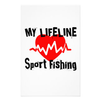 Papeterie Ma ligne de vie pêche sportive folâtre des