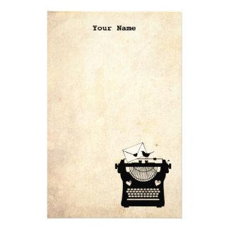 Papeterie Machine à écrire vintage romantique