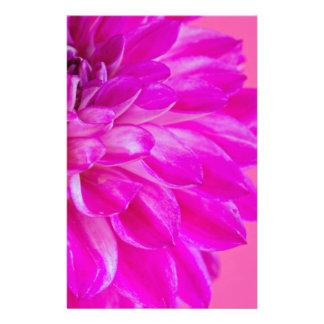 Papeterie Macro image du dahlia de fleur sur le backgroun