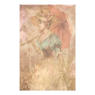 Papeterie Madame victorienne élégante Umbrella Stationery