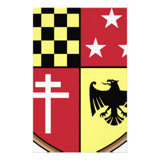 Papeterie Manteau des étoiles de croix d'Eagle de bras