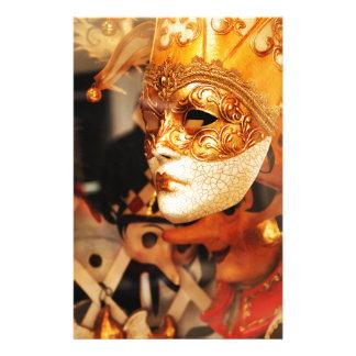 Papeterie Masques vénitiens
