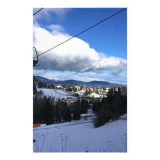 Papeterie Montagne de ski