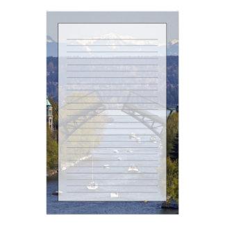 Papeterie Montagnes de pont et de cascade de Montlake
