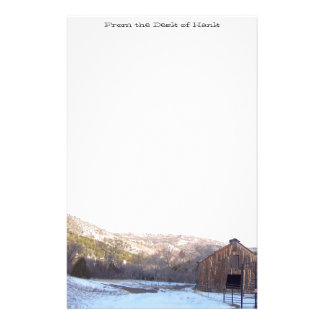 Papeterie Montagnes pittoresques le Colorado de vieille de