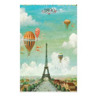 Papeterie Monter en ballon au-dessus de Paris