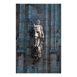 Papeterie Monument d'architecture de statue de dôme de