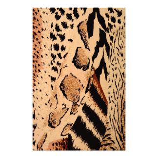 Papeterie Motif de guépard