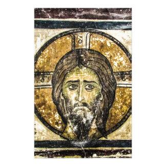 Papeterie Mouchoir saint de Jésus d'icône orthodoxe de Noël