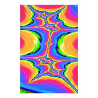 Papeterie Mouvements de fractale d'existence