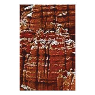 Papeterie mur de roche de forme de forme d'érosion