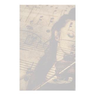 Papeterie Musique Artsy de violon