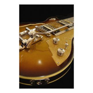 Papeterie Musique rock de musique d'instrument de guitare