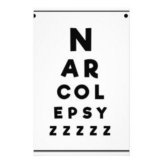 Papeterie Narcolepsie ZZZZ