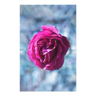 Papeterie Noël a glacé le rose de rose