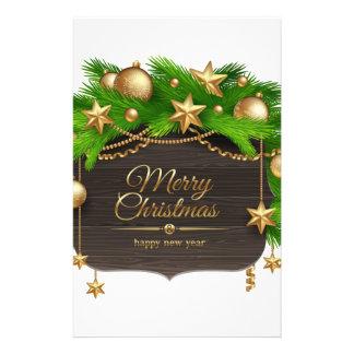 Papeterie Noël, vacances, décorations, célébration