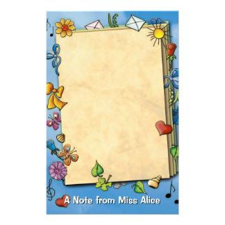 Papeterie Note unique d'enfants