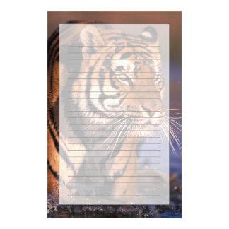 Papeterie Panthera le Tigre de tigre de l'Asie, de l'Inde,