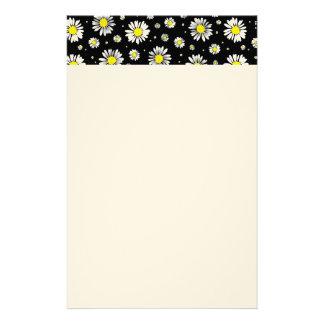 Papeterie Papier de marguerites