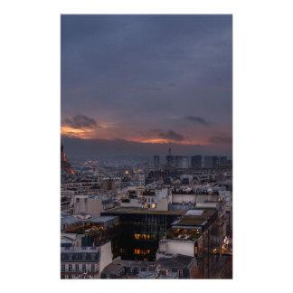 Papeterie Paris by night