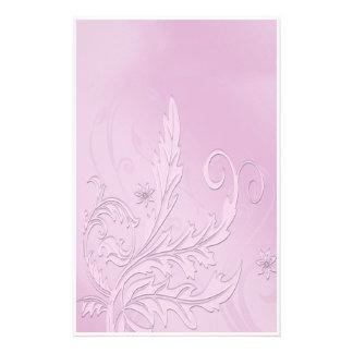 Papeterie Passion pourpre vintage florale