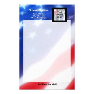 Papeterie patriotique de photo