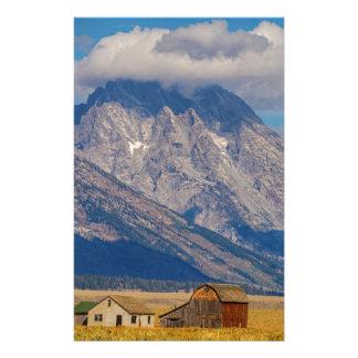 Papeterie Paysage de pays de Teton